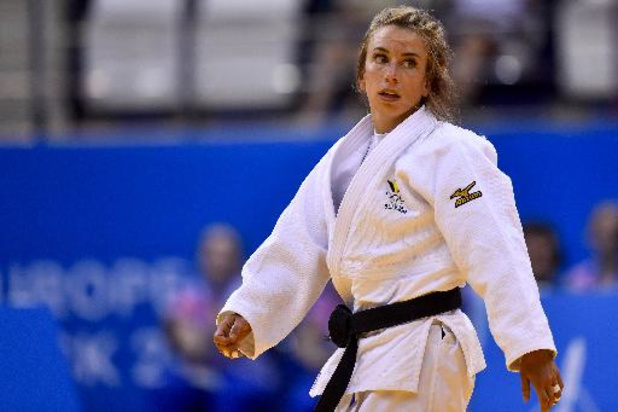 Mondiaux de judo: Charline Van Snick au tapis dès son entrée en lice