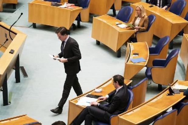 In het nauw gedreven Rutte vecht voor zijn politiek overleven