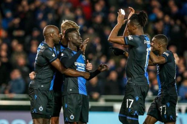 Le championnat définitivement arrêté, le Club Bruges champion, Waasland-Beveren relégué