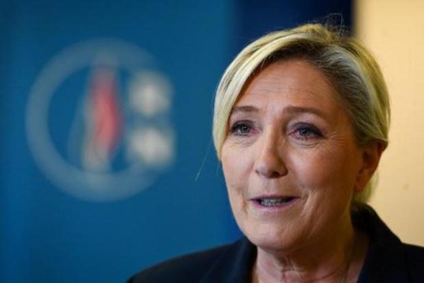 """Lokale verkiezingen Frankrijk - Le Pen verwelkomt """"echte grote overwinning"""" van haar partij"""