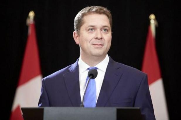 Oppositieleider van de conservatieven neemt ontslag in Canada