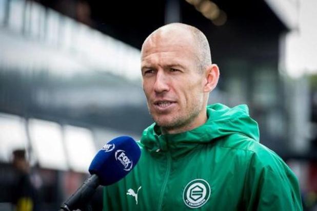 Arjen Robben speelt dit jaar niet meer door kuitblessure
