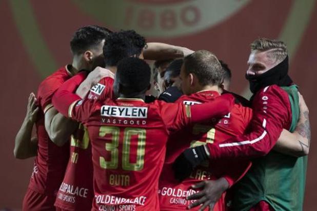 Jupiler Pro League - Antwerp houdt in inhaalwedstrijd tegen Gent de drie punten thuis