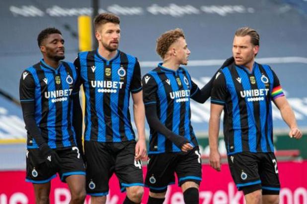 Jupiler Pro League - Bruges signe un 10e succès de suite en dominant Zulte Waregem