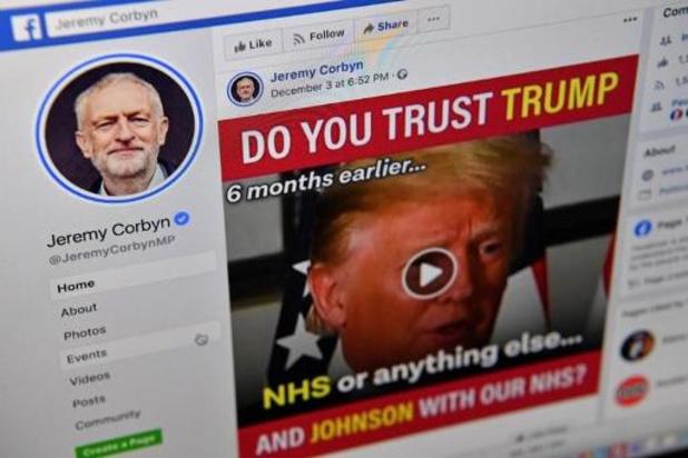 Facebook et Instagram ont rejeté 2,2 millions de publicités en amont de l'élection