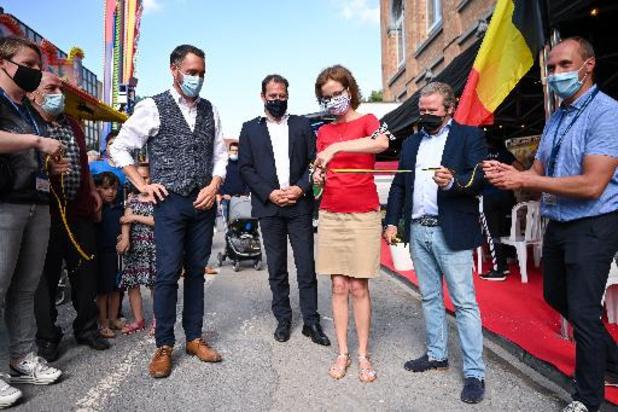 La foire de Namur officiellement inaugurée