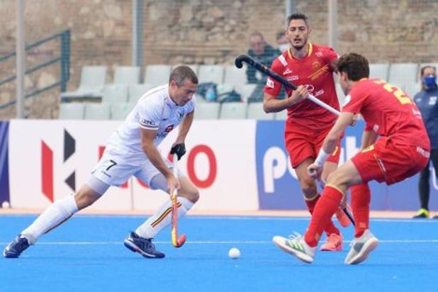 Red Lions zijn andermaal te sterk voor Spanje