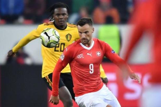 Diables Rouges - La Suisse au complet pour affronter les Diables, von Ballmoos remplace Kobel