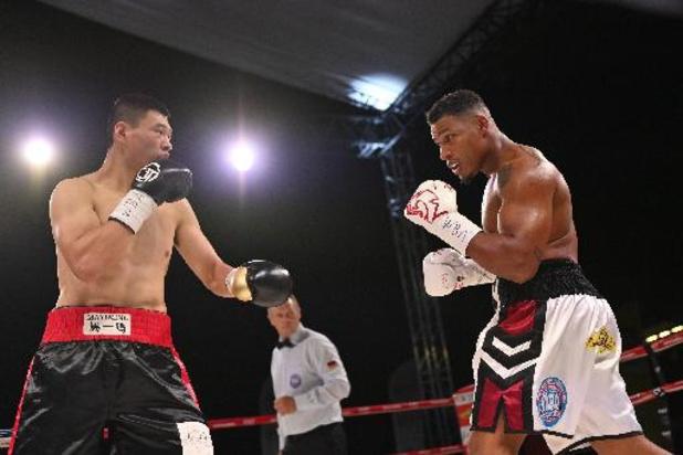 Championnats du monde WBA lourds-légers - Vainqueur du Chinois Zhaoxin Zhang par k.o au 8e round, Ryad Merhy conserve son titre