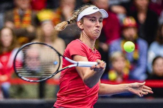 Elise Mertens, 22e, gagne une place après sa finale à Prague