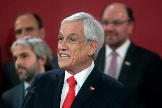 President Piñera vervangt 8 van de 24 ministers