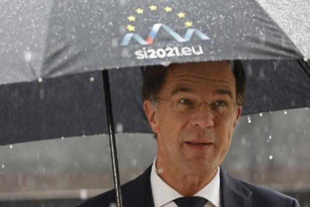 Un homme arrêté pour avoir menacé le Premier ministre néerlandais