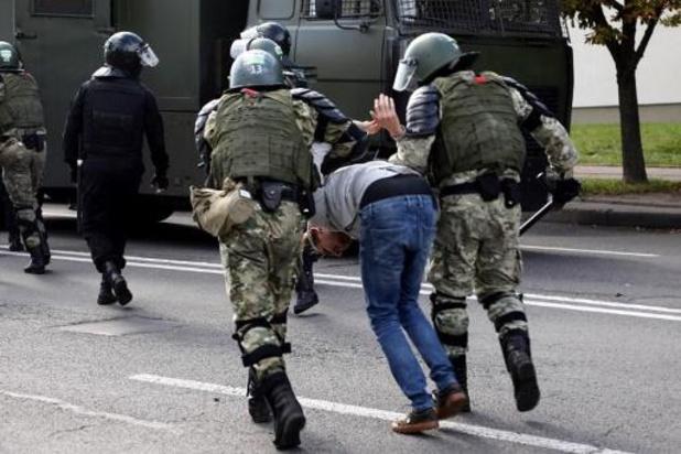 Opnieuw tal van arrestaties bij nieuwe protesten in Wit-Rusland