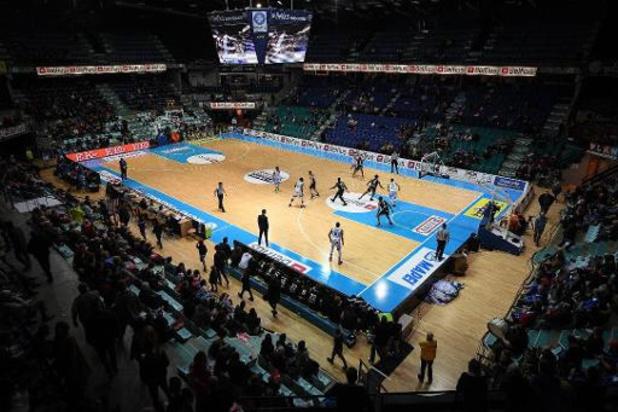 L'Euromillions League de basket arrête sa compétition et proclame Ostende champion