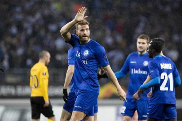 """Europa League - Depoitre en Kaminski reageren in koor: """"We moeten vooral de zege onthouden"""""""