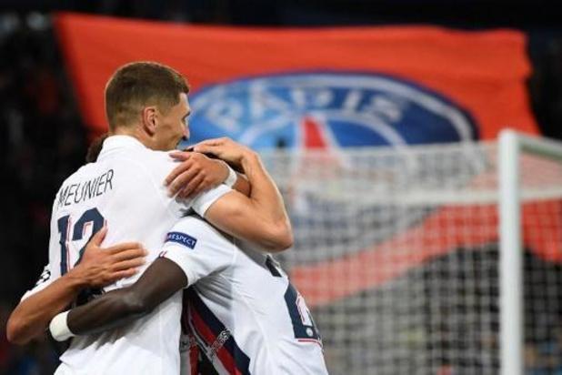 Les Belges à l'étranger - Le PSG punit le Real avec un but de Meunier (3-0), encore un assist pour De Bruyne