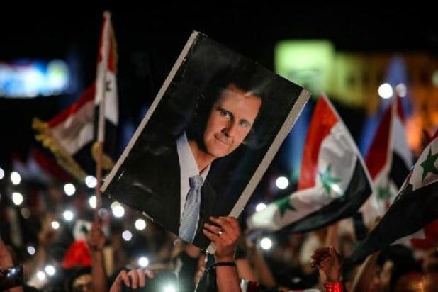 Assad legt eed af voor vierde termijn als Syrisch president