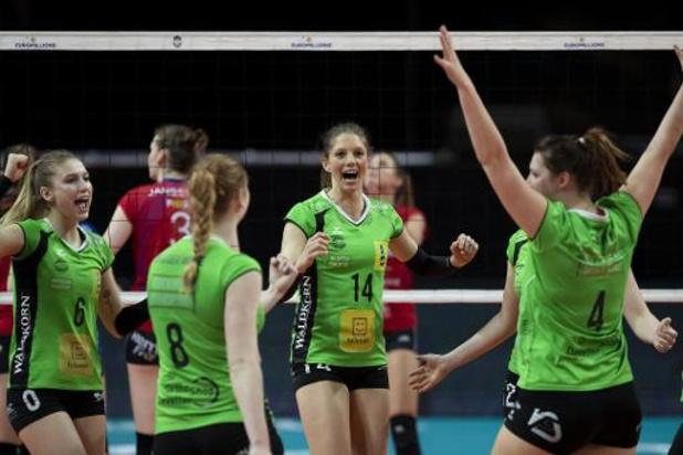 Beker van België volley (v) - Oostende blijft bekerhouder na 3-2 winst tegen Asterix Avo Beveren