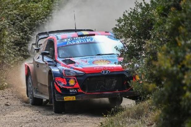 La dernière journée du Rallye de Ypres sur le circuit de Spa-Francorchamps le 15 août