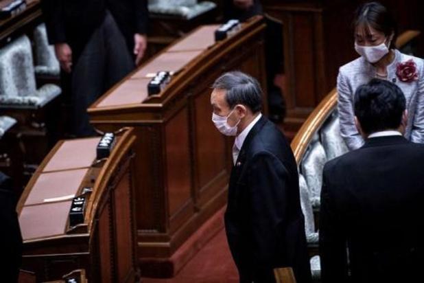 Premier contact entre Donald Trump et Yoshihide Suga