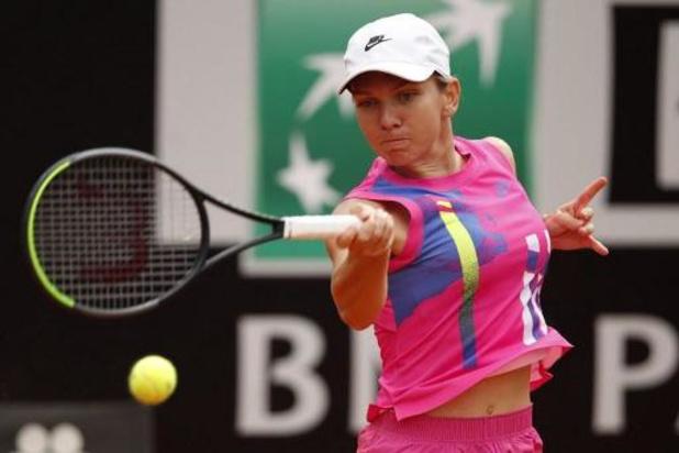 WTA Rome - Halep wint titel na opgave van Pliskova