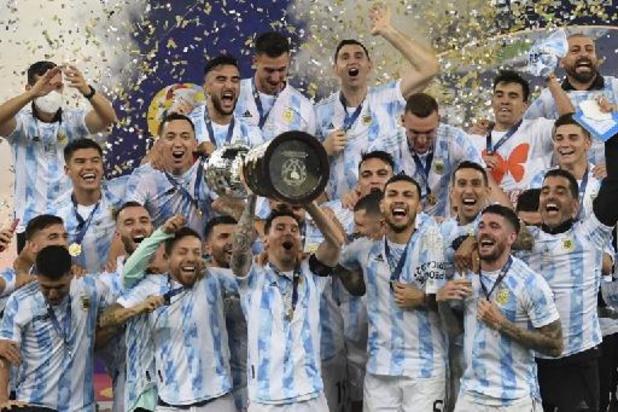 """Messi pakt eerste trofee met Argentinië: """"God heeft dit moment opgespaard voor mij"""""""