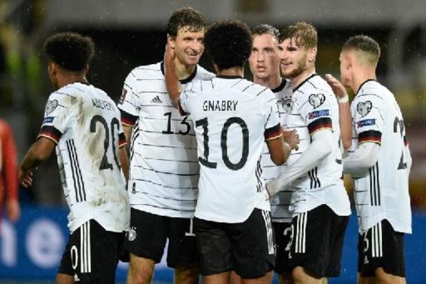 Kwal. WK 2022 - Duitsland pakt WK-ticket, Rode Duivels moeten nog wachten