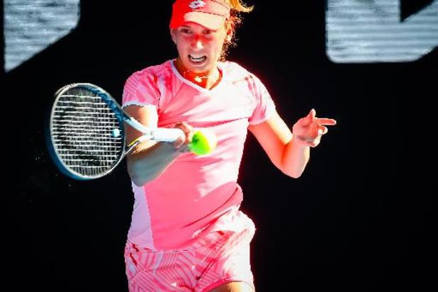 WTA Miami - Wisselvallige Mertens krijgt Kontaveit klein en speelt 1/8e finales tegen Osaka