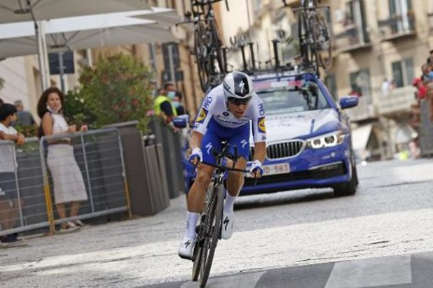 """Tour d'Italie - Almeida, étonnant 2e du chrono: """"pour ma première étape dans un grand Tour, c'est parfait"""""""