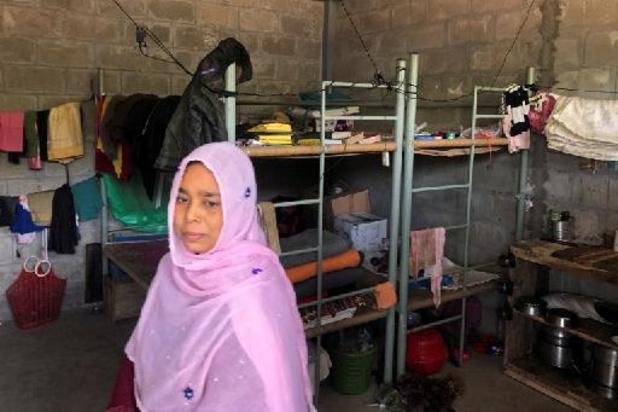 Les réfugiés rohingyas se disent piégés sur l'île de Bhashan Char