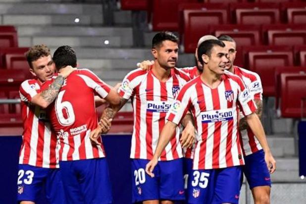 Belgen in het buitenland - Atlético Madrid verslaat Real Valladolid met kleinste verschil