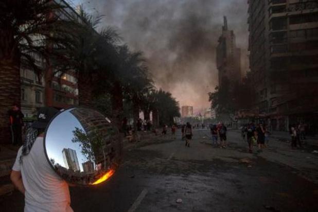 Chileense politie belooft betogers niet langer met rubberkogels te beschieten