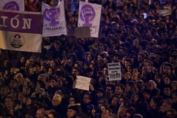 Violences faites aux femmes - Manifestations en Espagne contre les violences machistes