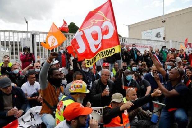 France: manifestation pour sauver l'usine Renault de Choisy, promise à la fermeture