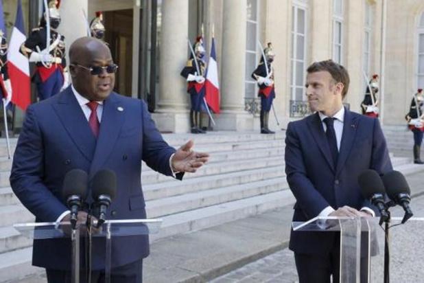 Les présidents Macron et Tshisekedi condamnent les violences au Tchad
