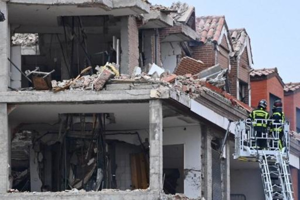 Minstens twee doden bij ontploffing in Madrid