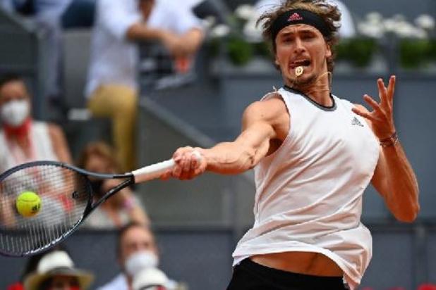 ATP Madrid - Zverev rekent af met Thiem op weg naar finale