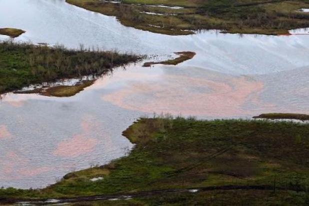 Pollution en Arctique: Moscou demande un dédommagement record de 1,8 mds euros