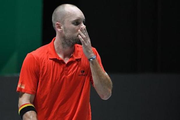 """Davis Cup - Darcis na nederlaag tegen Kyrgios: """"Zijn service gaf de doorslag"""""""