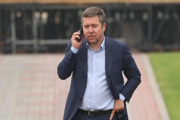 Le manager du Club de Bruges Vincent Mannaert condamné pour conduite en état d'ébriété