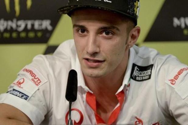 Le pilote italien Andrea Iannone suspendu 18 mois pour usage de stéroïdes anabolisants