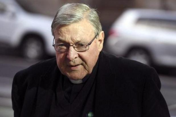 Australische kardinaal Pell had weet van kindermisbruik door priesters