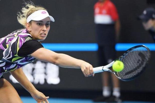 Elise Mertens éliminée en quarts de finale à Hobart