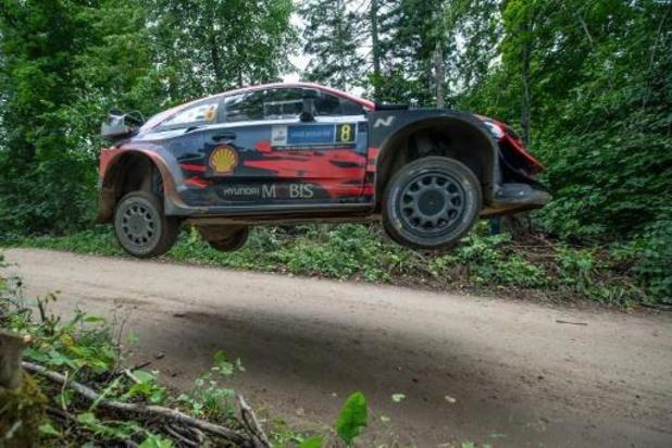 Tänak le plus rapide du shakedown du rallye d'Estonie, 5e temps pour Neuville