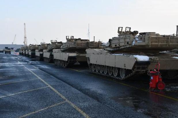 L'US Army remplace cet été sa brigade blindée en Europe, le Kansas succède au Texas