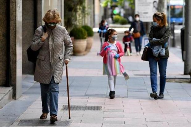 Spanjaarden mogen opnieuw wandelen en sporten