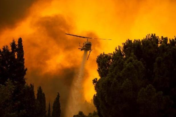 Griekse premier geeft fouten toe bij bestrijding bosbranden