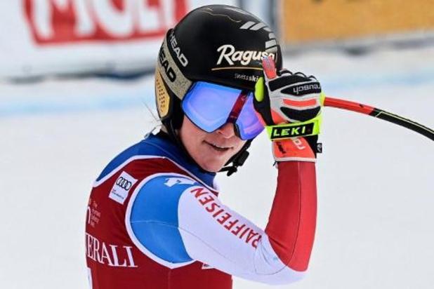 Lara Gut-Behrami gagne aussi la 2e descente de Val di Fassa et creuse l'écart au général