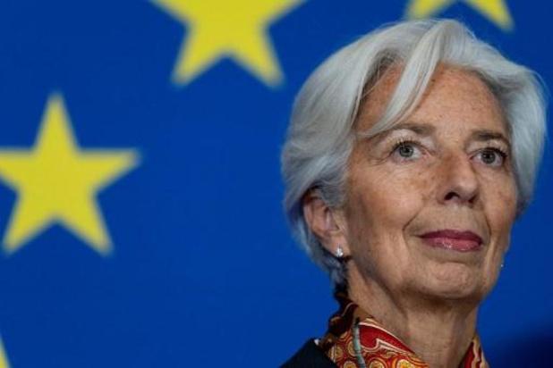 Eerste ECB-vergadering onder Christine Lagarde