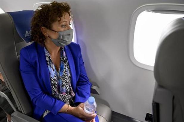 La ministre flamande Lydia Peeters dans le collimateur pour un vol Bruxelles-Anvers